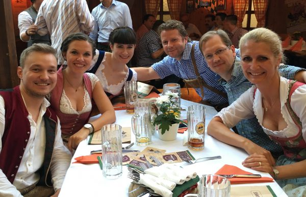 Team Augsburg auf dem Herbstplärrer 2016